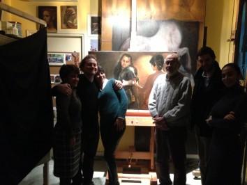 From left to right: Nadia, Tim, Giulia, Dario and Miranda.