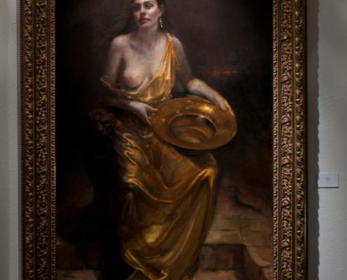 Salome Oil Painting Full Framed