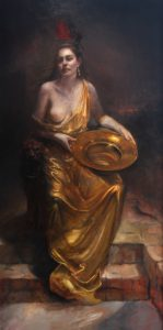 Salome Oil Painting Full Size